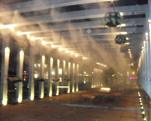 走廊喷雾降温系统