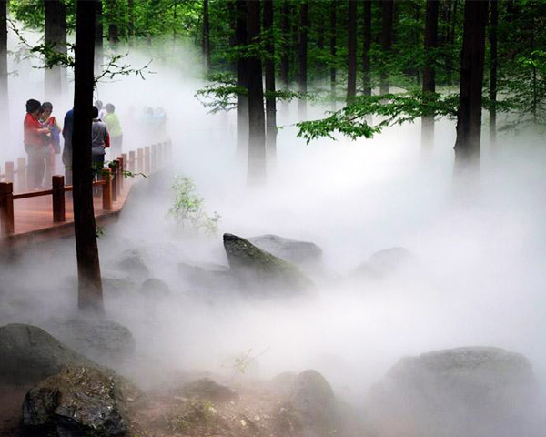 公园景区喷雾造景