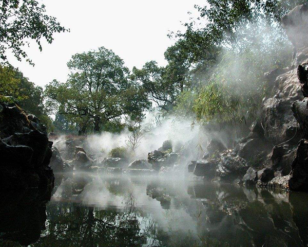 假山景观喷雾