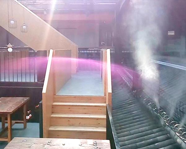 店铺装饰喷雾景观
