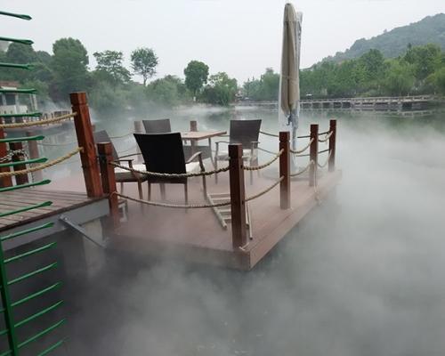 户外喷雾景观